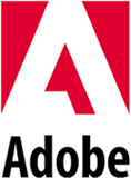 logotype of the adobe brand