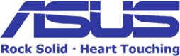 logotype of the asus brand