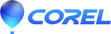 logotype of the corel brand