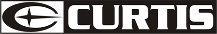 logotype of the curtis brand