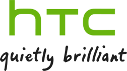 logotype of the htc brand