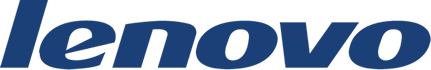 logotype of the lenovo brand