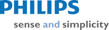logotype of the philips brand