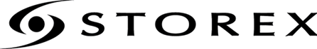 logotype of the storex brand