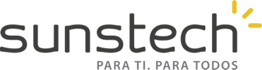 logotype of the sunstech brand
