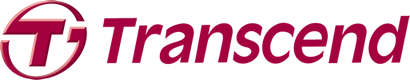 logotype of the transcend brand