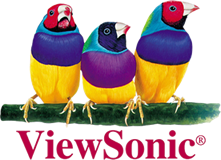 logotype of the viewsonic brand