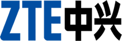 logotype of the zte brand